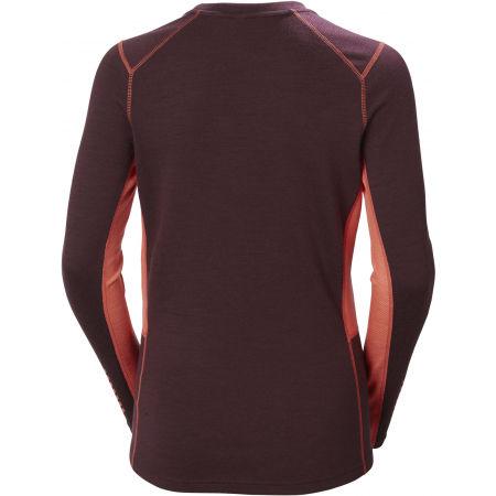 Women's merino T-shirt - Helly Hansen W LIFA MERINO MIDWEIGHT CREW - 2