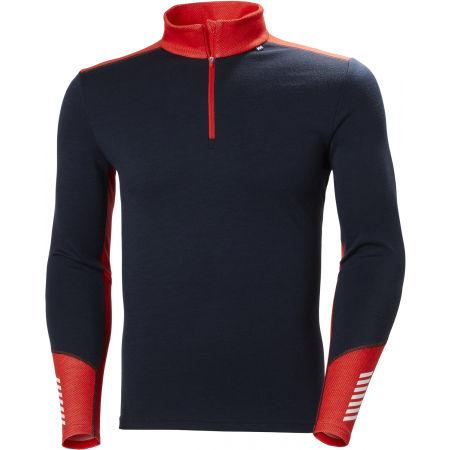 Men's merino T-shirt - Helly Hansen LIFA MERINO MIDWEIGHT 1/2 ZIP - 1