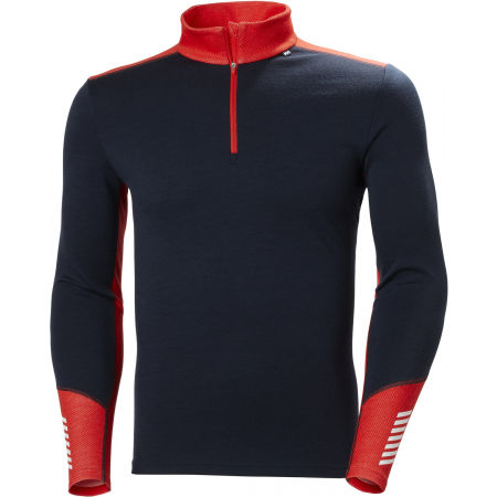 Helly Hansen LIFA MERINO MIDWEIGHT 1/2 ZIP - Pánske Merino tričko