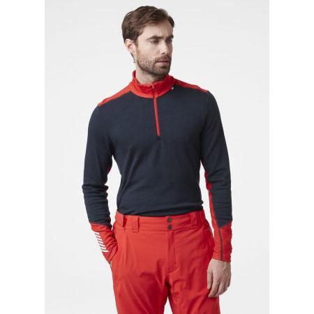 Men's merino T-shirt - Helly Hansen LIFA MERINO MIDWEIGHT 1/2 ZIP - 5