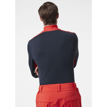 Men's merino T-shirt - Helly Hansen LIFA MERINO MIDWEIGHT 1/2 ZIP - 6