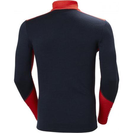 Men's merino T-shirt - Helly Hansen LIFA MERINO MIDWEIGHT 1/2 ZIP - 2