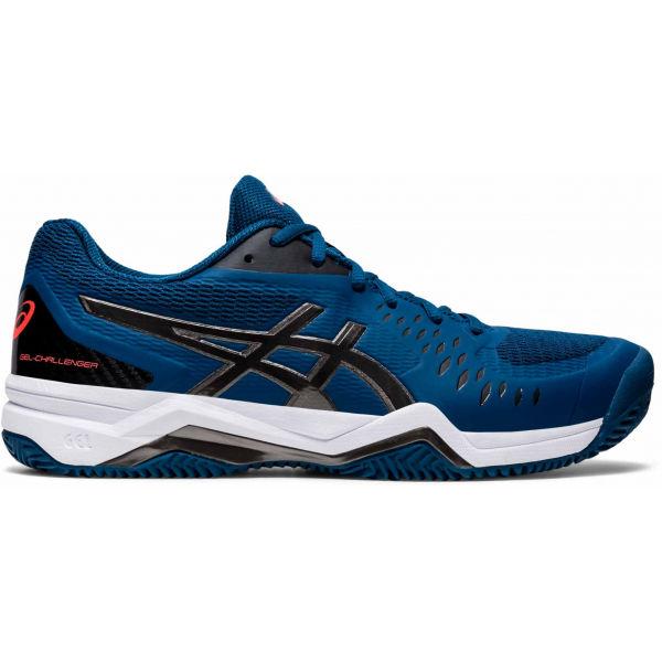 Asics GEL-CHALLENGER 12 CLAY modrá 10.5 - Pánská tenisová bota