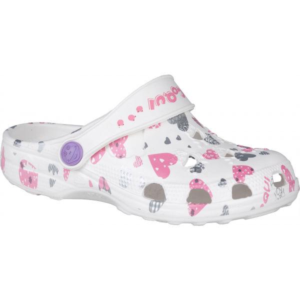 Coqui LITTLE FROG bílá 23/24 - Dětské sandály