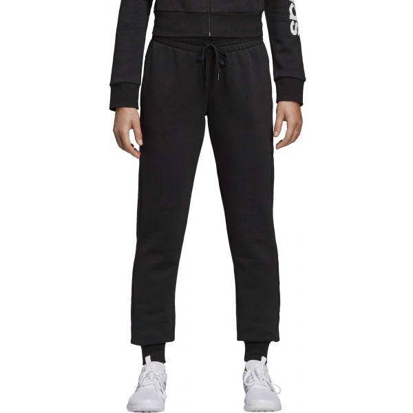 adidas E LIN PANT FL černá L - Dámské tepláky