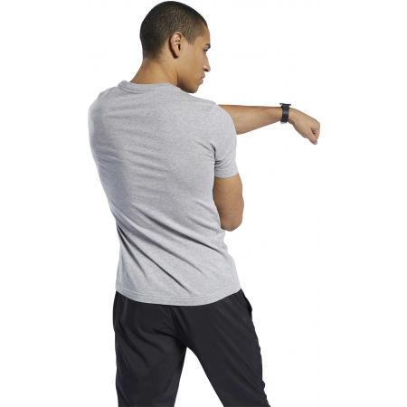 Men's T-shirt - Reebok GRAPHIC SERIES REEBOK LINEAR READ TEE - 5