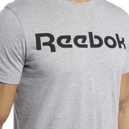 Men's T-shirt - Reebok GRAPHIC SERIES REEBOK LINEAR READ TEE - 6