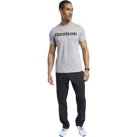 Men's T-shirt - Reebok GRAPHIC SERIES REEBOK LINEAR READ TEE - 4