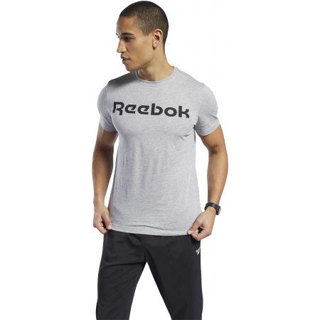 Men's T-shirt - Reebok GRAPHIC SERIES REEBOK LINEAR READ TEE - 3