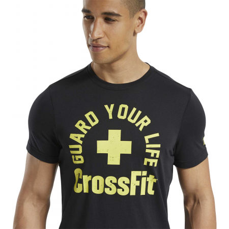 Men's T-Shirt - Reebok RC GUARD YOUR LIFE TEE - 6