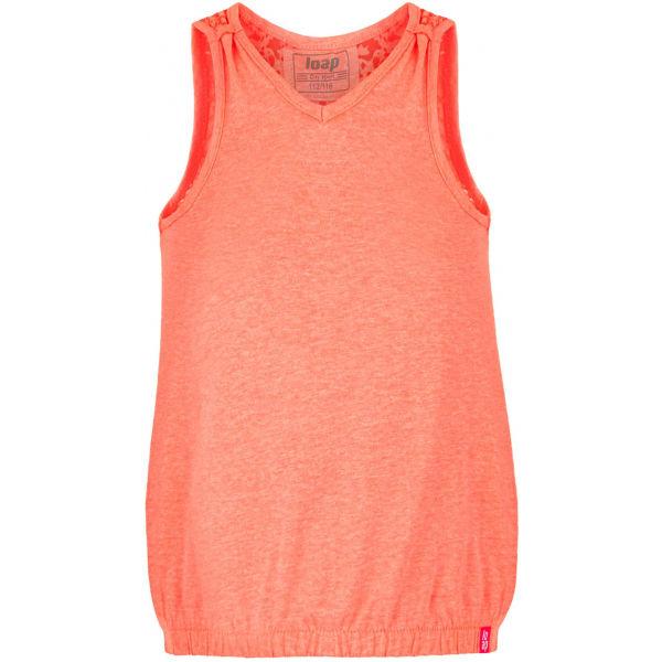 Loap BORKA oranžová 158-164 - Dívčí tílko