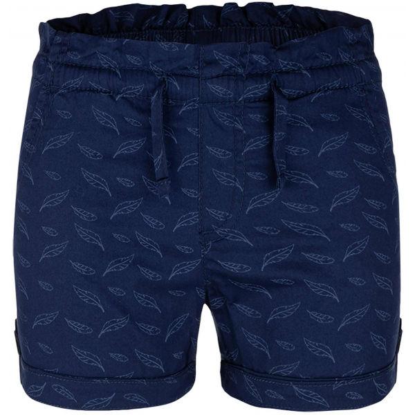 E-shop Loap NAFFI modrá 122-128 - Dívčí šortky