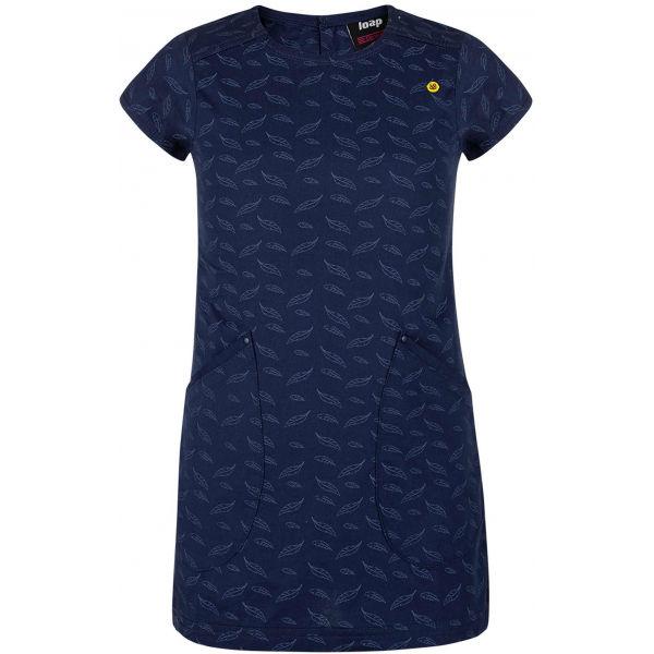 Loap NARIA modrá 122-128 - Dívčí šaty