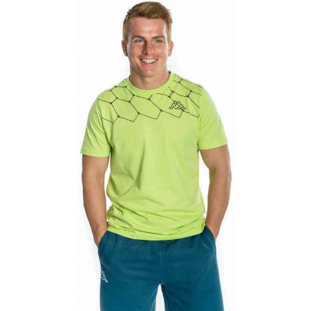 Pánské tričko - Kappa LOGO AREBO - 2