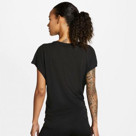 Dámské tréninkové tričko - Nike DRY SS TOP TIE PP1 SPRKLE W - 4