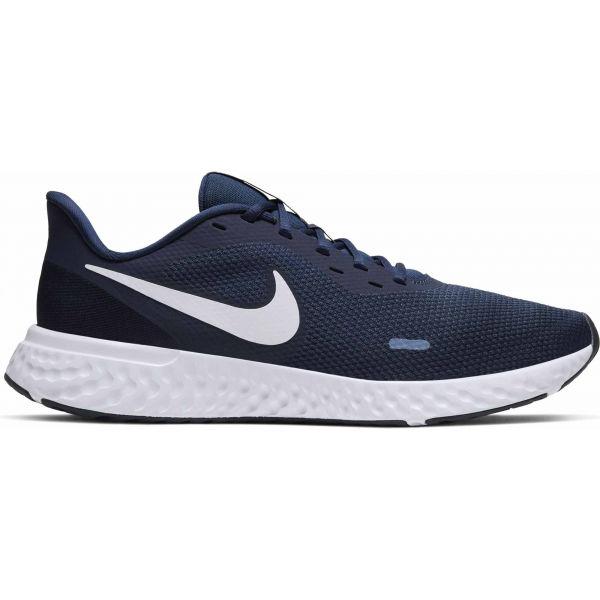 Nike REVOLUTION 5 modrá 9.5 - Pánská běžecká obuv