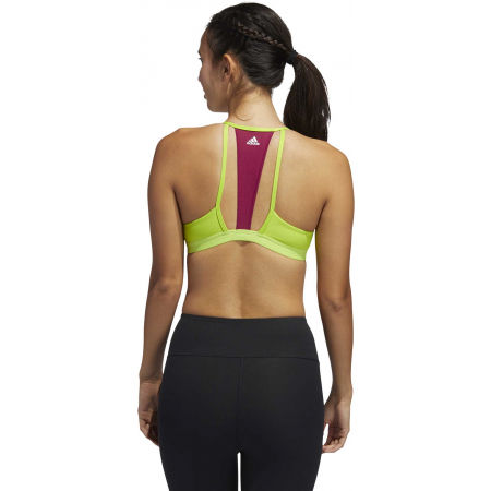 Women's bra - adidas AM 3S MESH BRA - 7