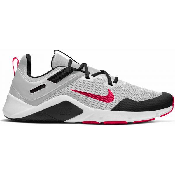 Nike LEGEND ESSENTIAL bílá 11.5 - Pánská tréninková obuv