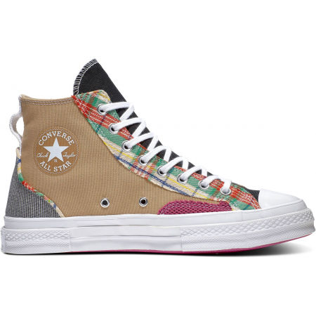 Men's ankle sneakers - Converse CHUCK 70 OVERLAYS