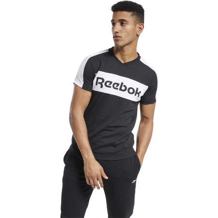 Men's T-Shirt - Reebok TE LL SS GRAPHIC TEE - 4