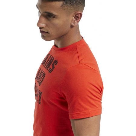 Tricou bărbați - Reebok GS OPP TEE GRAPHIC - 7