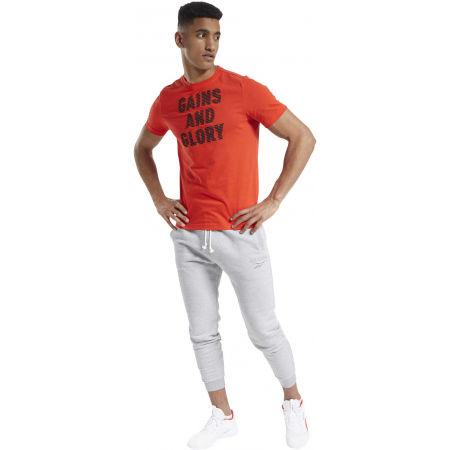 Tricou bărbați - Reebok GS OPP TEE GRAPHIC - 4