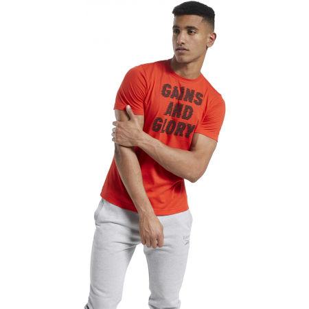 Pánské tričko - Reebok GS OPP TEE GRAPHIC - 3