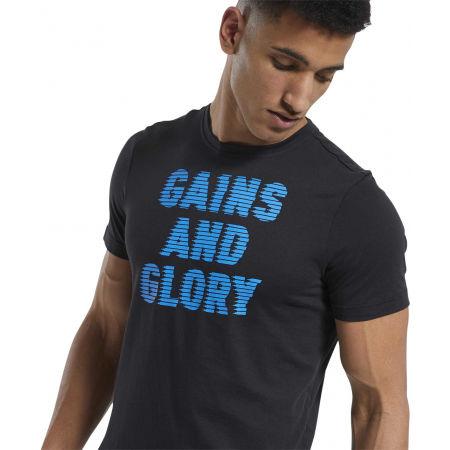 Pánske tričko - Reebok GS OPP TEE GRAPHIC - 6
