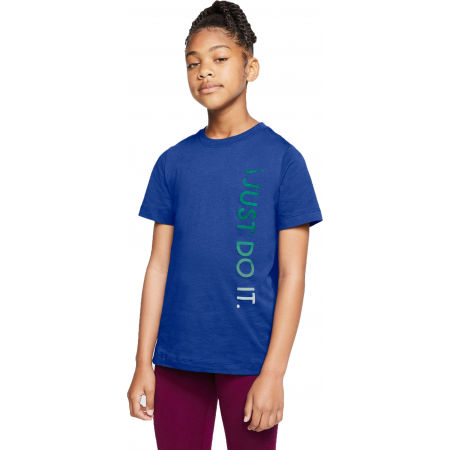 Nike NSW TEE JDI VERTICAL U - Kindershirt