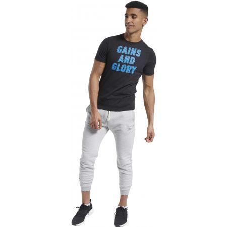 Men's T-Shirt - Reebok GS OPP TEE GRAPHIC - 4