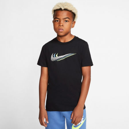 Detské tričko - Nike NSW TEE TRIPLE SWOOSH U - 3