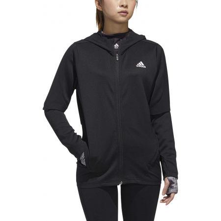 Women's sports jacket - adidas AR KNIT JACKET - 3