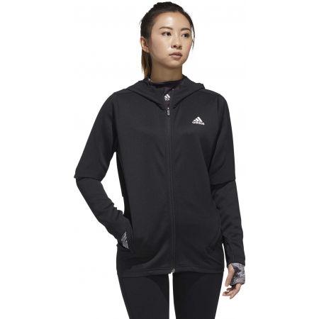 Women's sports jacket - adidas AR KNIT JACKET - 4