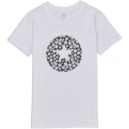 Converse WOMENS CHUCK PATCH DAISY INFILL CLASSIC TEE - Dámské tričko