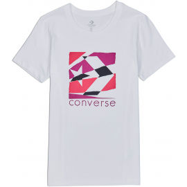 Converse WOMENS TORN CLASSIC TEE - Dámské tričko