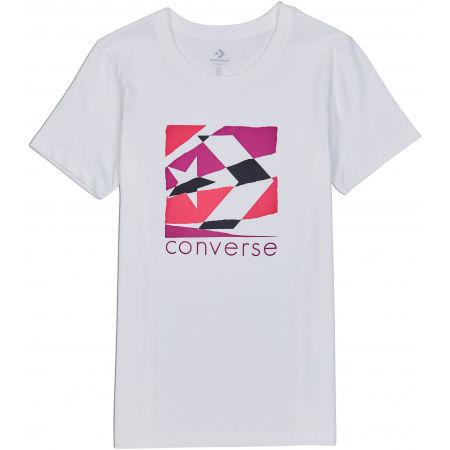 Tricou damă - Converse WOMENS TORN CLASSIC TEE