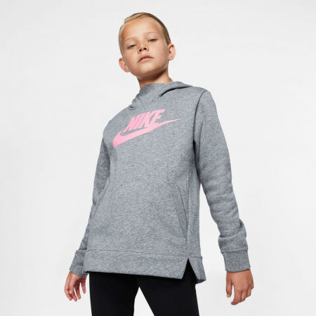 Горнище за момичета - Nike NSW PE PULLOVER - 3