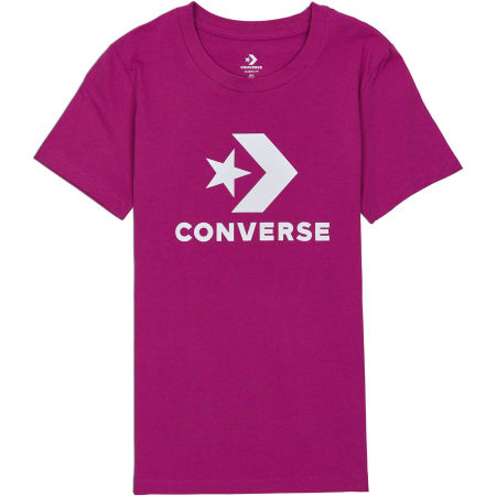 Women's T-shirt - Converse STAR CHEVRON TEE