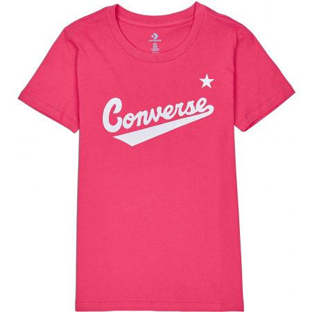 Dámské tričko - Converse WOMENS NOVA CENTER FRONT LOGO TEE