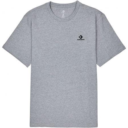 Converse LEFT CHEST SM STAR CHEVRON TEE - Pánske tričko