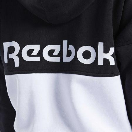 Women's sweatshirt - Reebok TE LINEAR LOGO FT FULLZIP - 6