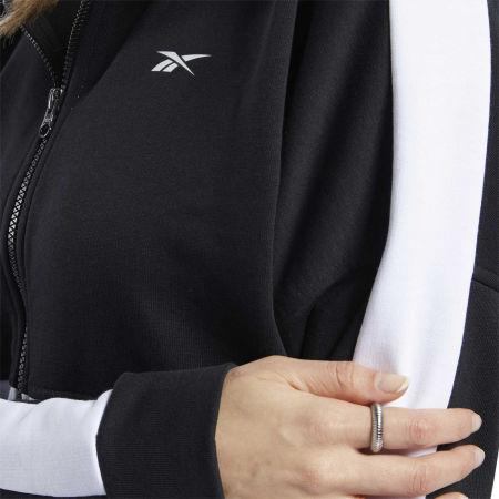 Women's sweatshirt - Reebok TE LINEAR LOGO FT FULLZIP - 7