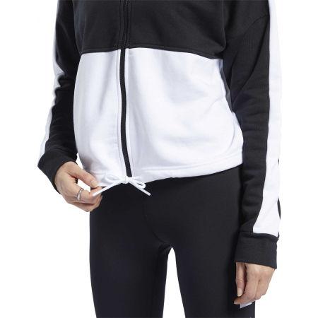 Women's sweatshirt - Reebok TE LINEAR LOGO FT FULLZIP - 8