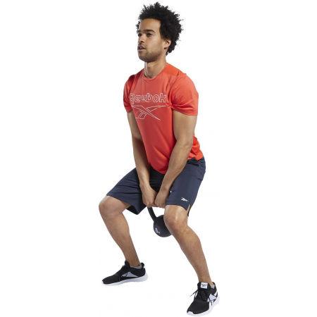 Men's sports shorts - Reebok WORKOUT READY SHORTS - 5