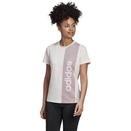 Dámské triko - adidas W D2M BRND T - 4