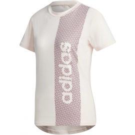 adidas W D2M BRND T - Dámske tričko