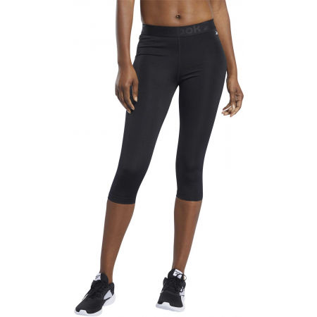 Women's leggings - Reebok WOR COMM CAPRI - 3
