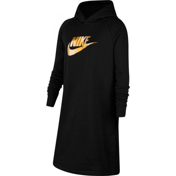 Nike NSW SHINE GX HD DRESS PR G  S - Dívčí šaty