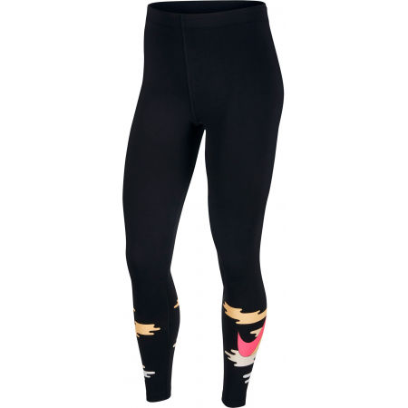 Legginsy damskie - Nike NSW ICN CLSH TIGHT HW W - 1