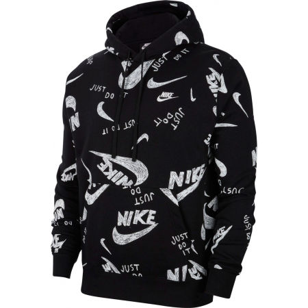 Nike NSW CLUB HOODIE PO BB AOP 1 M - Pánska mikina